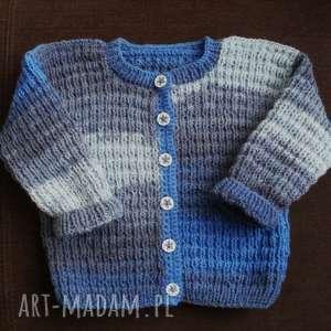 ręczne wykonanie ciepły sweterek
