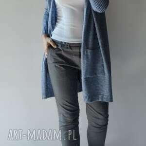 Kardigan damski oversize swetry feltrisimi elegancki, puszysty