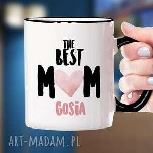 Prezent The Best Mom!- personalizowany ceramiczny kubek z nadrukiem, dzien-matki