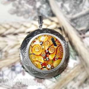 Prezent sekretnik medalion otwierany :: drzewo życia::, prezent, sekretnik, unikat