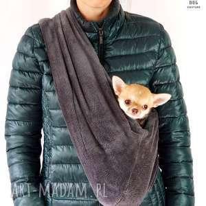 chusta dla psa torba psa, pies, piesek, szczeniak, torba, nosidło, kot zwierzaki