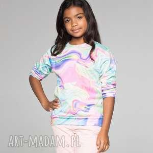 bluza dla dzieci w kolorowe mazy - bluza, dziecięca, mrgugu, sweater, kids