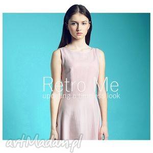 Nowa Kolekcja - Solo Per Te, sukienka, długa, prosta, romatyczna