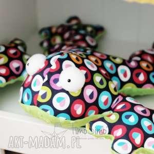 poduszka sensoryczna dla dzieci żaba gabriela kolorowe serduszka, sensoryka
