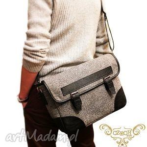 meska torba vol 1 - czech draft, męska, laptopa, filc, filcowa, xxl, duża torebki