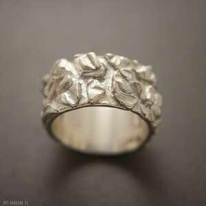 hand-made pomysły na prezenty pod choinkę obrączka srebrna z kolekcji europa