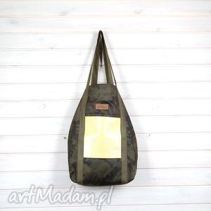 Pojemna wodoodporna torba moro, torebka, pojemna, xxl, wojskowa,