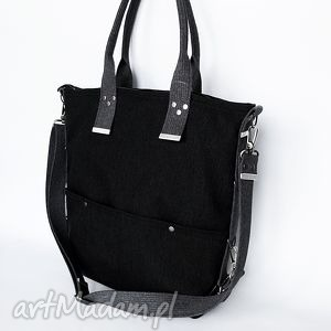 torba na ramię vintage unisex 04, torba, worek torebki