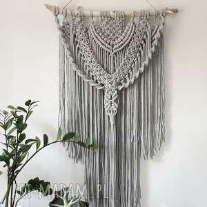 dekoracje makrama ścienna 01, makrama, dekoracja, sznurek, boho, dekoracja