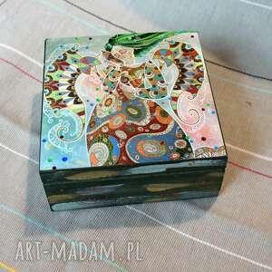 marina czajkowska szkatułka - morza szept, szkatułka, anioł, morze