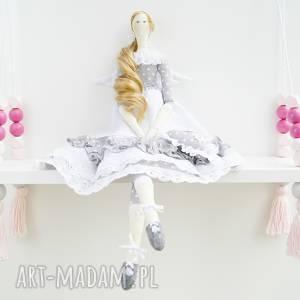 Anioł tilda lalki kuferek malucha tilda, lalka, chrzest, anioł