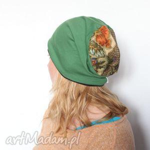 czapka damska piękny adonisie jak nietoperz w zwisie t1 - czapka, dresowa, dzianina