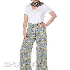 spodnie wyjątkowe spodnie, cytryny, hit lata, designerskie, wyjątkowe, wiosna