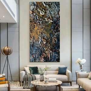 artistic stone - wielkoformatowy obraz na płótnie abstrakcyjny art