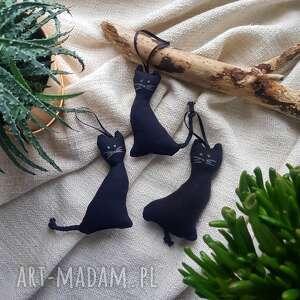 breloki kot kotek zawieszka czarny na szczęście brelok, zawieszka