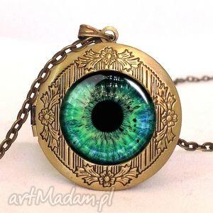 źrenica - sekretnik z łańcuszkiem, kobiecy, prezent, oko