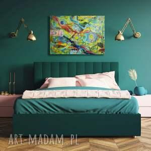 wyjątkowy prezent, dzieje się 4, abstrakcja, dekoracja, kolory, design, wnętrza