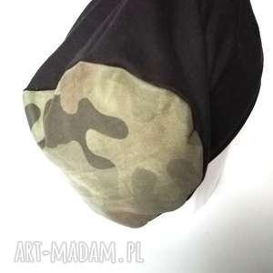 czapka damska męska moro na podszewce, smerfetka, długa, etno, czapka