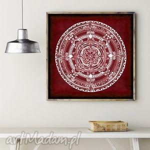 mandala 50x50cm, mandala, plakat, plakaty, rysunek, obraz, święta prezenty