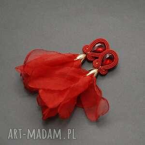Klipsy sutasz z kwiatkiem sisu sznurek, wyjściowe,