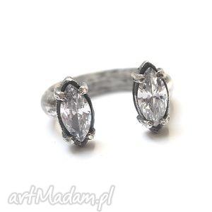 pierścionki markizy crystal- pierścionek, srebro, cyrkonie biżuteria
