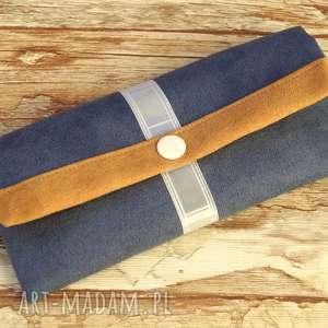 ręczne wykonanie portfele portfelik z ekozamszu