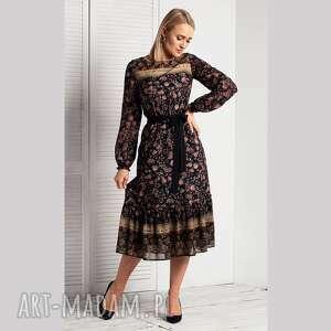 Sukienka kyla total midi ismena sukienki livia clue midi, lekko