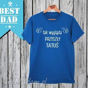 koszulka z nadrukiem dla taty, tata, super najlepszy tatuś, ojciec, mąż