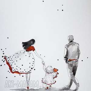 adriana laube art wspólnie przez świat 3 akwarela artystki adriany