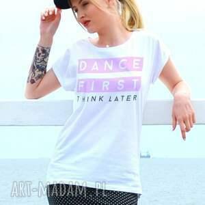 koszulki dance first oversize t-shirt, oversize, fashion ubrania