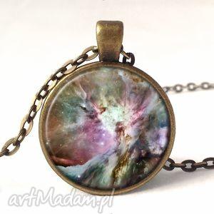 hand made naszyjniki orion nebula - medalion z łańcuszkiem