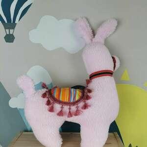 handmade zabawki lama z burgundem