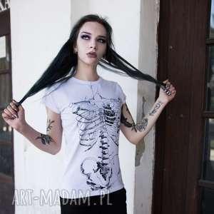 damska koszulka ze szkieletem szkielet puszczy
