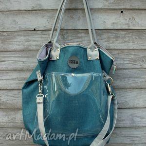 na ramię torba worek rasp marine, worek, wygodna, zakupy, podróże