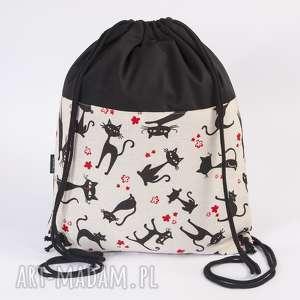 Worek z kotami, torba, worek, plecak, koty