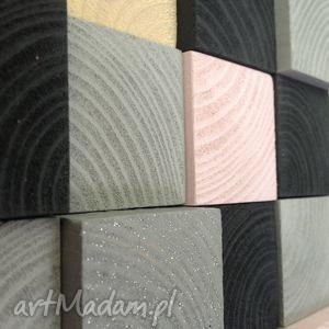drewniana mozaika na zamówienie, obraz, mozaika, drewno, ściana, dekoracja