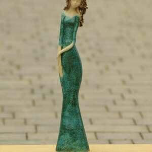Figurka kobiety ceramika kacik pomyslow figurka, kobiety