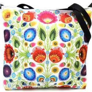torba z motywem folk, torba, xxl torebki