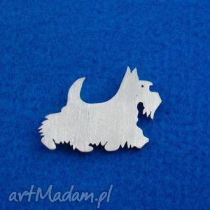 Prezent Broszka Terrier szkocki pies nr.4, broszka, pies, terrier-szkocki, rasy-psów