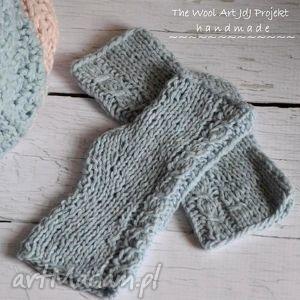 mitenki - rękawiczki, mitenki, niebieskie, prezent, getry