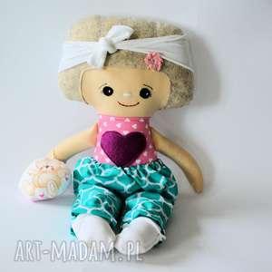 lalka dobranocka - hania 47 cm, lalka, dobranocka, zestaw, przytulanka, roczek