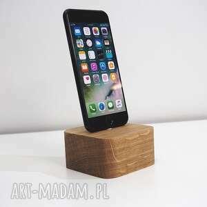 ręczne wykonanie dom drewniana stacja ładowania iphone