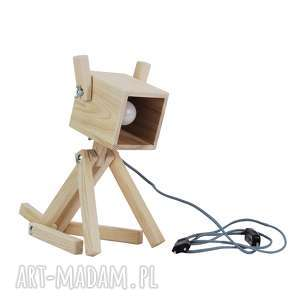 Lampka Puppy Natural 002, pies, lampkapies, drewniana