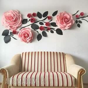 dekoracja salonu lub sypialni, dom, dekoracja, oryginał, rękodzieło, kwiaty