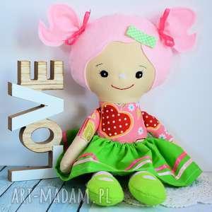 ręcznie zrobione lalki lalka rojberka - słodki łobuziak frania 50
