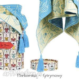 handmade pokoik dziecka kocyk bawełniany love bears 75/100 cm