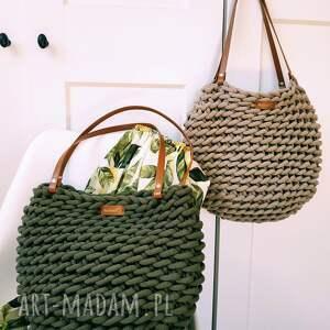 handmade na ramię torba boho wave