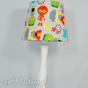 lampka super hero, lampa, dla, dzieci, kolorowa, popielewska, style