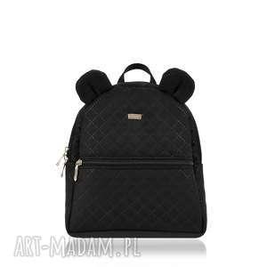farbotka plecaczek farbiś 1019 czarny, farbiś, przedszkolak, plecaczek, pikowany