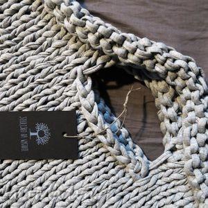 handmade do ręki torba industrial z eco-bawełny